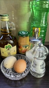 Russian and Ukrainian Cuisine - part 22 - Mayonnaise - Ingredients